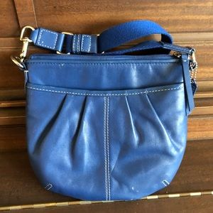 Coach cross body bag - blue